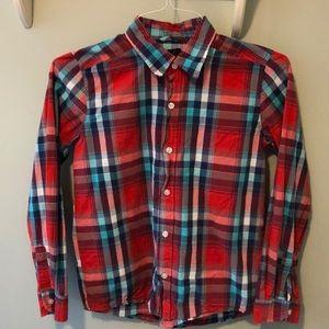 Boys Johnnie O lightweight dress shirt - Size M/12